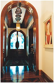 Cabinet Makers Brisbane, Quality Furniture Brisbane Framed and paneled internal archways