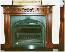Block work fireplaces